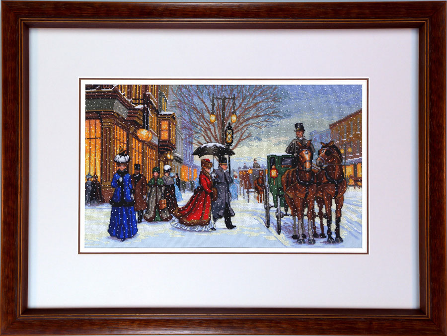 Examples of Framed Needle Point Work, Or Needle Art and Framed ...