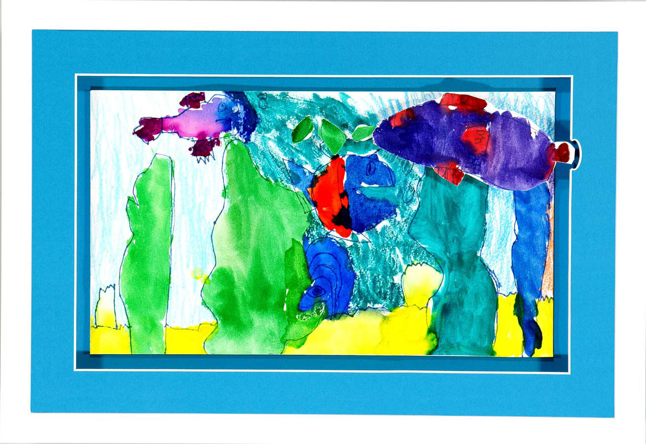Completed Children\'s Art