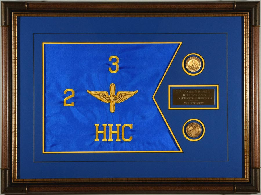 Aviation Guidon With Coins