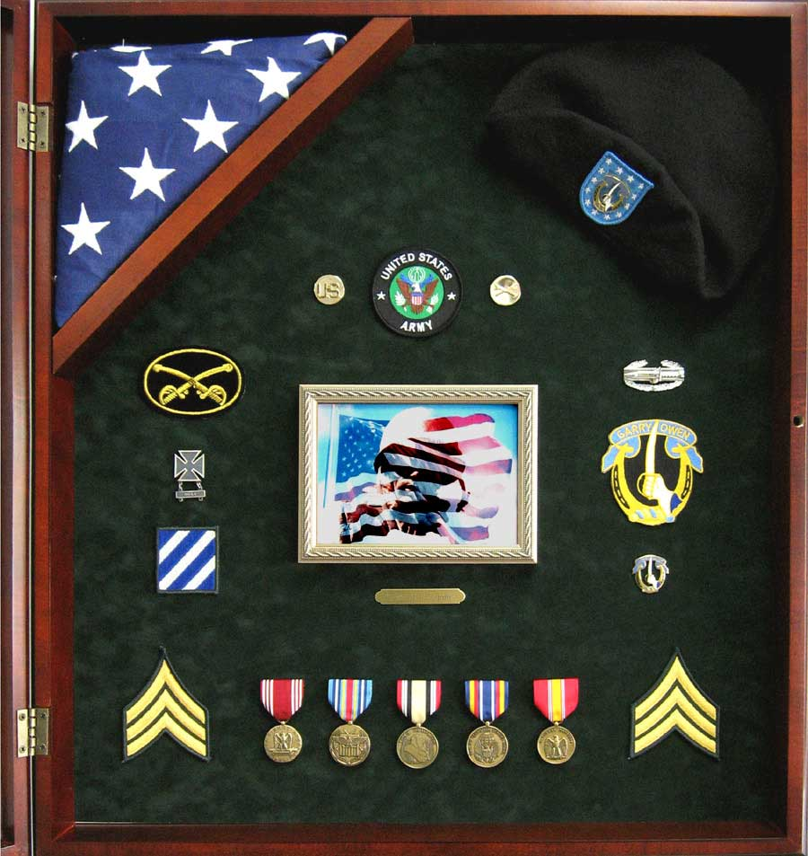 Flag Display Shadowbox
