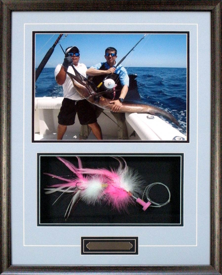 Shadow Box With Fishing Lure